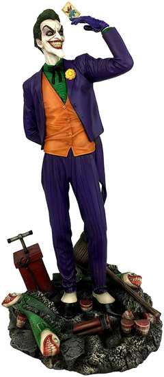 DC Gallery The Joker 9-Inch Collectible PVC Statue [Caesar]