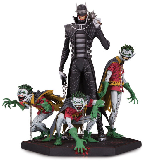 Dark Nights: Metal The Batman Who Laughts with Robin Minions 8.1-Inch Statue