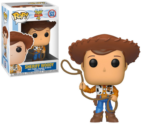 Funko Disney / Pixar Toy Story 4 POP! Disney Sheriff Woody Vinyl Figure [TS4]