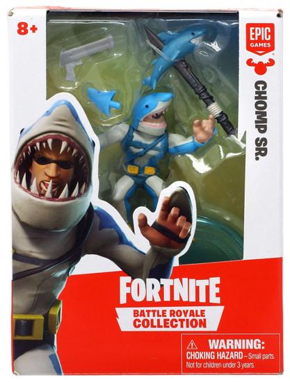 Fortnite Epic Games Battle Royale Collection Chomp Sr. 2-Inch Mini Figure