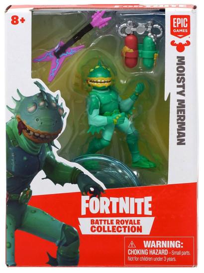 Fortnite Epic Games Battle Royale Collection Moisty Merman 2-Inch Mini Figure
