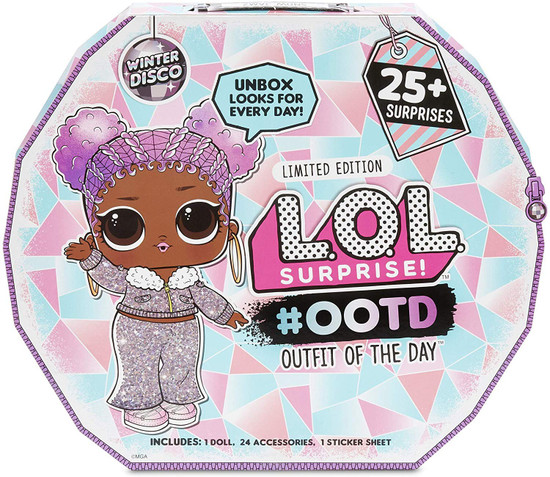 LOL Surprise Winter Disco 2019 LIMITED EDITION #OOTD Advent Calendar [Outfit of the Day, 25+ Surprises]