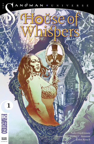 DC House of Whispers #1 The Sandman Universe Comic Book [Bill Sienkiewicz Variant Cover]