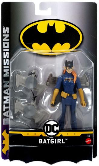 DC Batman Missions Batgirl Action Figure