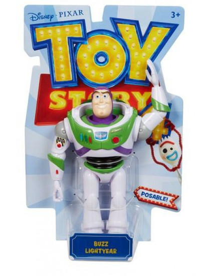 Toy Story 4 Posable Buzz Lightyear Action Figure