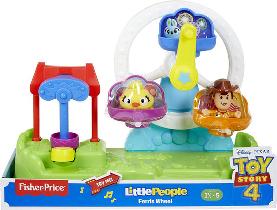 Fisher Price Toy Story 4 Little People Ferris Wheel Playset