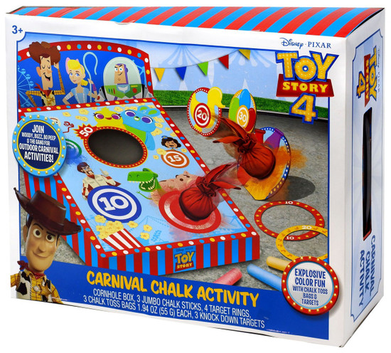 Toy Story 4 Carnival Chalk Activity Playset