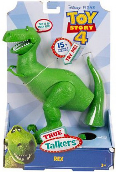 Toy Story 4 True Talkers Rex Action Figure