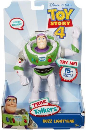 Toy Story 4 True Talkers Buzz Lightyear Action Figure