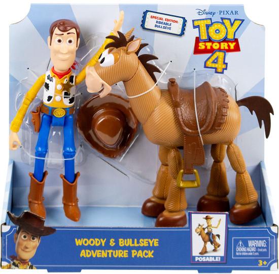 "Disney Store Toy Story BULLSEYE 18/"" TALKING FIGURE 2019 Movie Horse NEW 4 PIXAR"