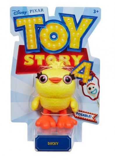 Toy Story 4 Posable Ducky Action Figure