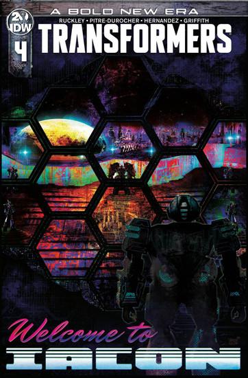 IDW Transformers #4 Comic Book [Jeffrey Veregge Variant Cover]