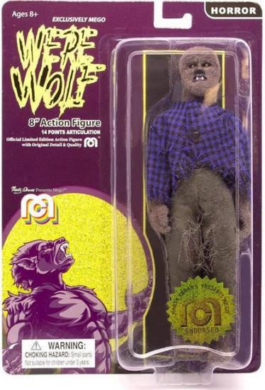 Horror Werewolf Action Figure [Full Body Flocked]