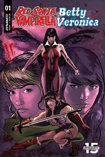 Dynamite Entertainment Red Sonja & Vampirella Meet Betty & Veronica #1 Comic Book [Cat Staggs Cover G]
