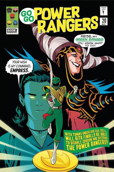 Boom Studios Go Go Power Rangers #20 Beyond The Grid Comic Book [Audrey Mok Variant Cover]