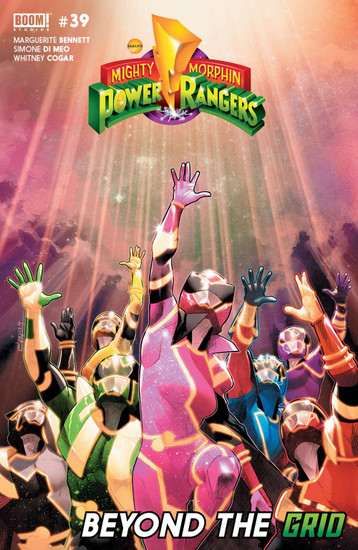 Boom Studios Mighty Morphin Power Rangers #39 Beyond The Grid Comic Book
