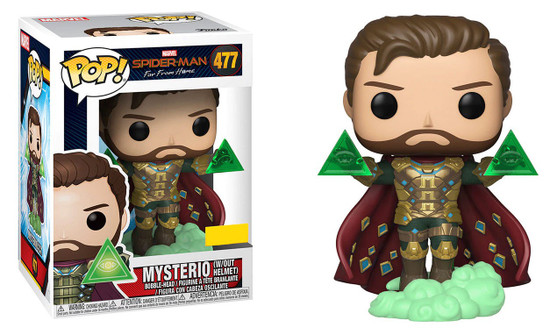 Funko Spider-Man Far From Home POP! Marvel Mysterio Exclusive Vinyl Figure #477 [Without Helmet]