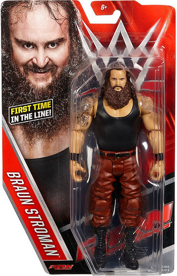 WWE Wrestling Series 64 Braun Strowman Action Figure [Damaged Package]