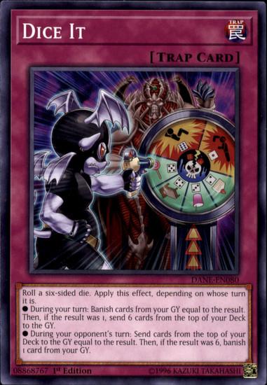 YuGiOh Dark Neostorm Common Dice It DANE-EN080