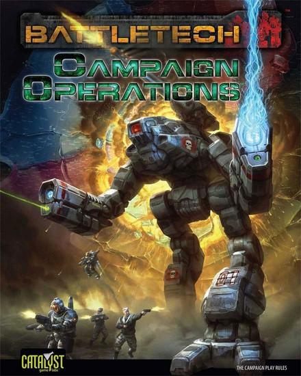 BattleTech Campaign Operations Board Game Accessory Book