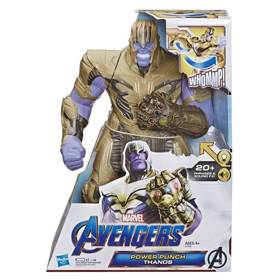Marvel Avengers Endgame Power Punch Thanos Deluxe Action Figure