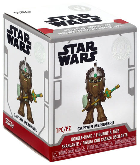 Funko Star Wars Mystery Minis Captain Merumeru Exclusive Mystery Pack [Wookie Theme]