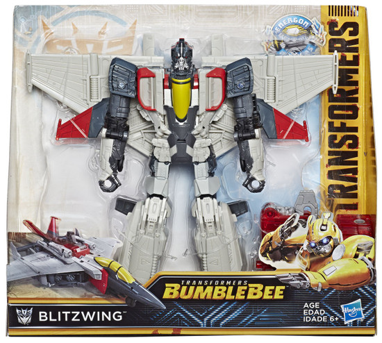 Transformers Bumblebee Movie Energon Igniters Nitro Blitzwing Action Figure [Damaged Package]