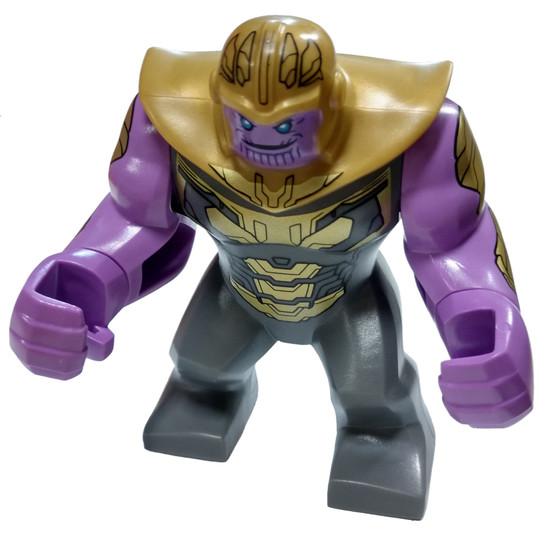 LEGO Marvel Super Heroes Avengers Endgame Thanos Minifigure [Big Figure Loose]