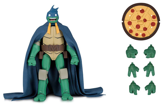 DC Batman vs. Teenage Mutant Ninja Turtles Michaelangelo as Batman Exclusive Action Figure
