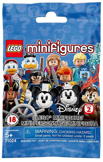 LEGO Minifigures Disney Series 2 Mystery Pack