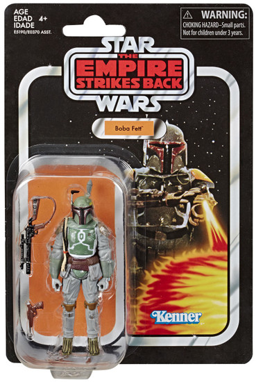 Star Wars The Empire Strikes Back Vintage Collection Boba Fett Action Figure
