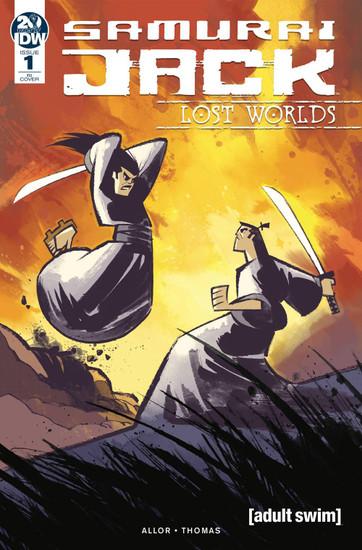 IDW Samurai Jack Lost Worlds #1 Comic Book [Nelson Daniel Variant Cover]