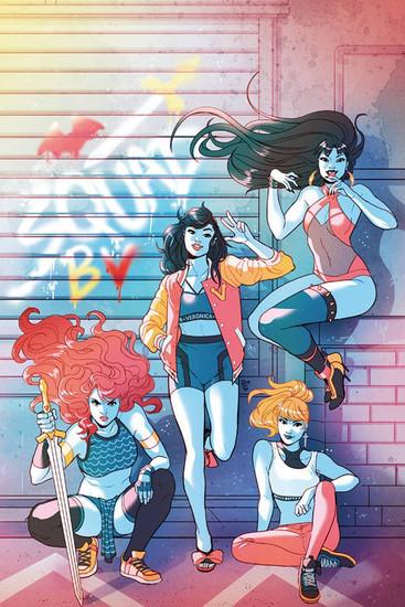 Dynamite Entertainment Red Sonja & Vampirella Meet Betty & Veronica #1 Comic Book [Paulina Ganucheau Virgin Cover]