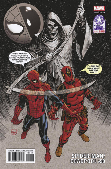 Marvel Comics Spider-Man / Deadpool #50 Limited to 3000 Comic Book [Dave Johnson Variant Cover]