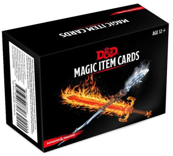 Dungeons & Dragons Magic Items Spellbook Cards