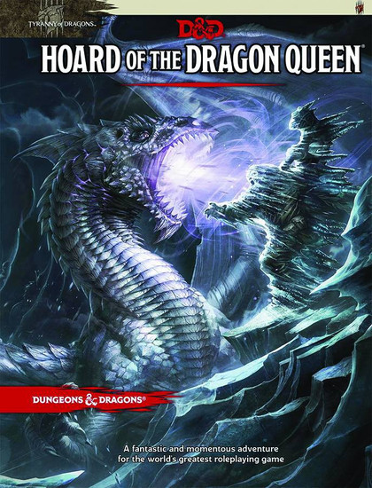 Dungeons & Dragons 5th Edition Hoard of The Dragon Queen Hardcover Roleplaying Book