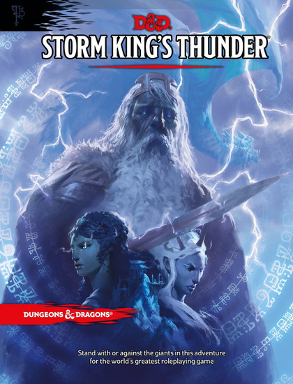 Dungeons & Dragons 5th Edition Storm King's Thunder Hardcover Roleplaying Book