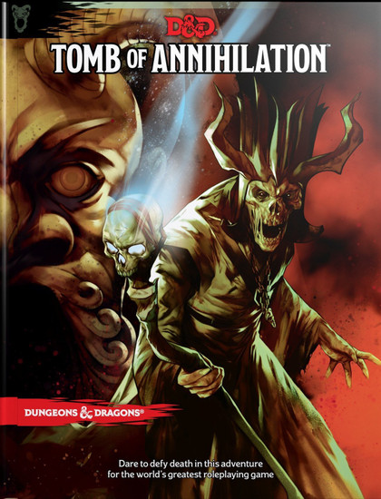 Dungeons & Dragons 5th Edition Tomb of Annihilation Hardcover Roleplaying Book
