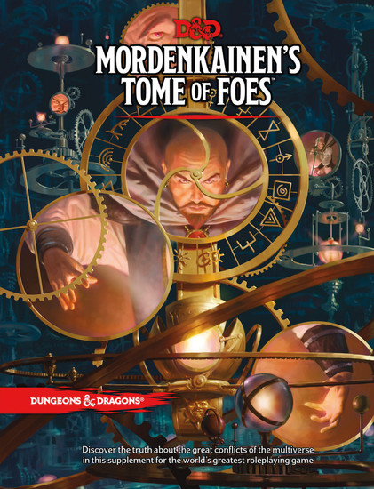 Dungeons & Dragons 5th Edition Mordenkainen's Tome of Foes Hardcover Roleplaying Book