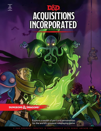 Dungeons & Dragons 5th Edition Acquisitions Incorporated! Hardcover Roleplaying Book