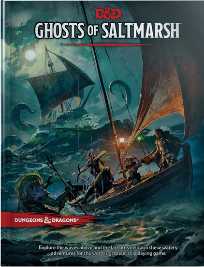 Dungeons & Dragons 5th Edition Ghosts of Saltmarsh Hardcover Roleplaying Book