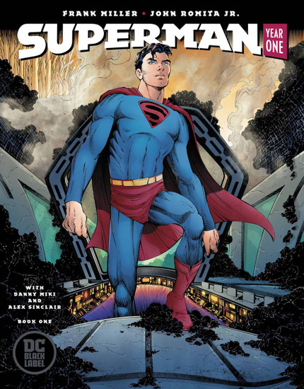 DC Black Label Superman Year One #1 Comic Book