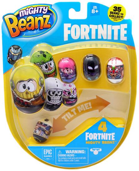 Mighty Beanz Fortnite Crackshot 4-Pack