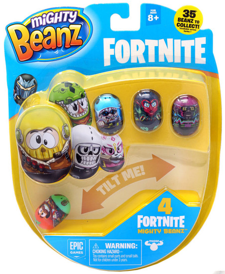 Mighty Beanz Fortnite Tomatohead 4-Pack