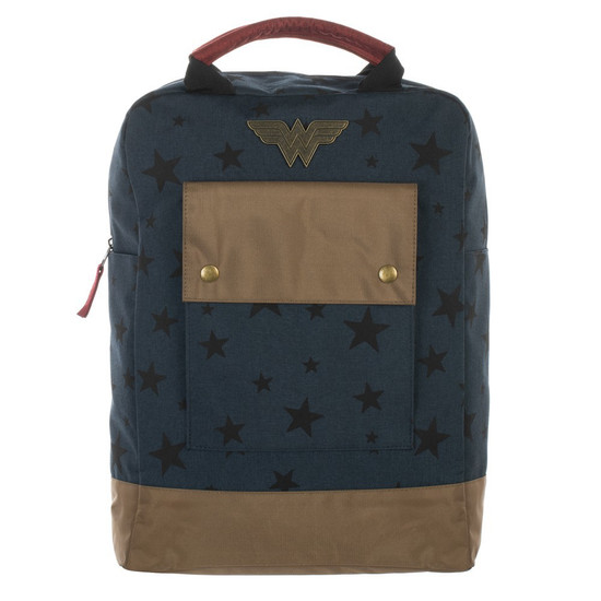 DC Wonder Woman Stars Tote Backpack