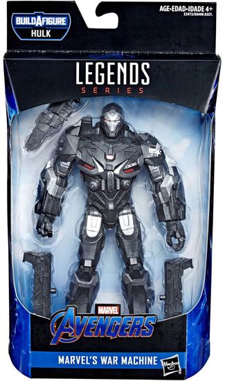 Avengers Endgame Marvel Legends Hulk Series War Machine Action Figure