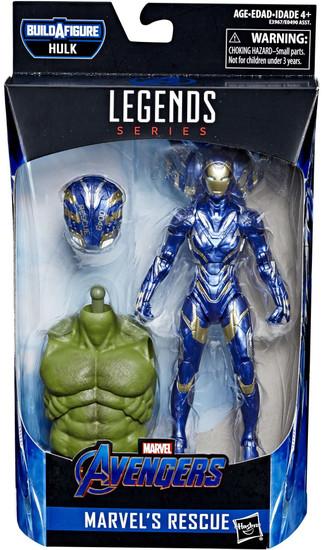 Avengers Endgame Marvel Legends Hulk Series Rescue Action Figure
