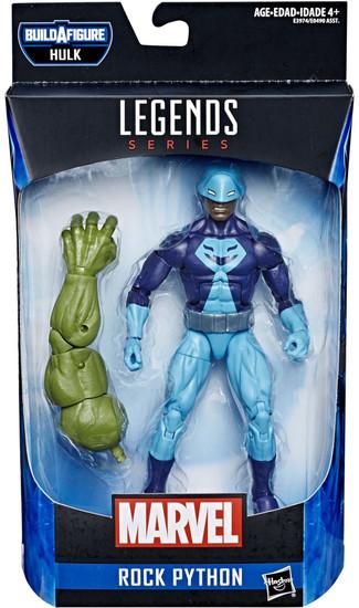 Avengers Endgame Marvel Legends Hulk Series Rock Python Action Figure