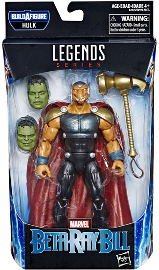 Avengers Endgame Marvel Legends Hulk Series Beta Ray Bill Action Figure