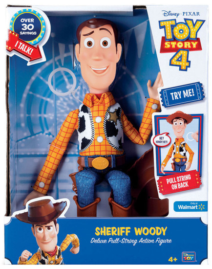 Toy Story 4 Woody Deluxe Pull-String Exclusive Action Figure